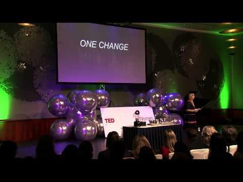 One change: Sarah Britton at TEDxAmsterdamWomen