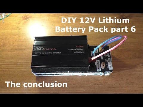 DIY 12V Lithium Battery Pack part 6