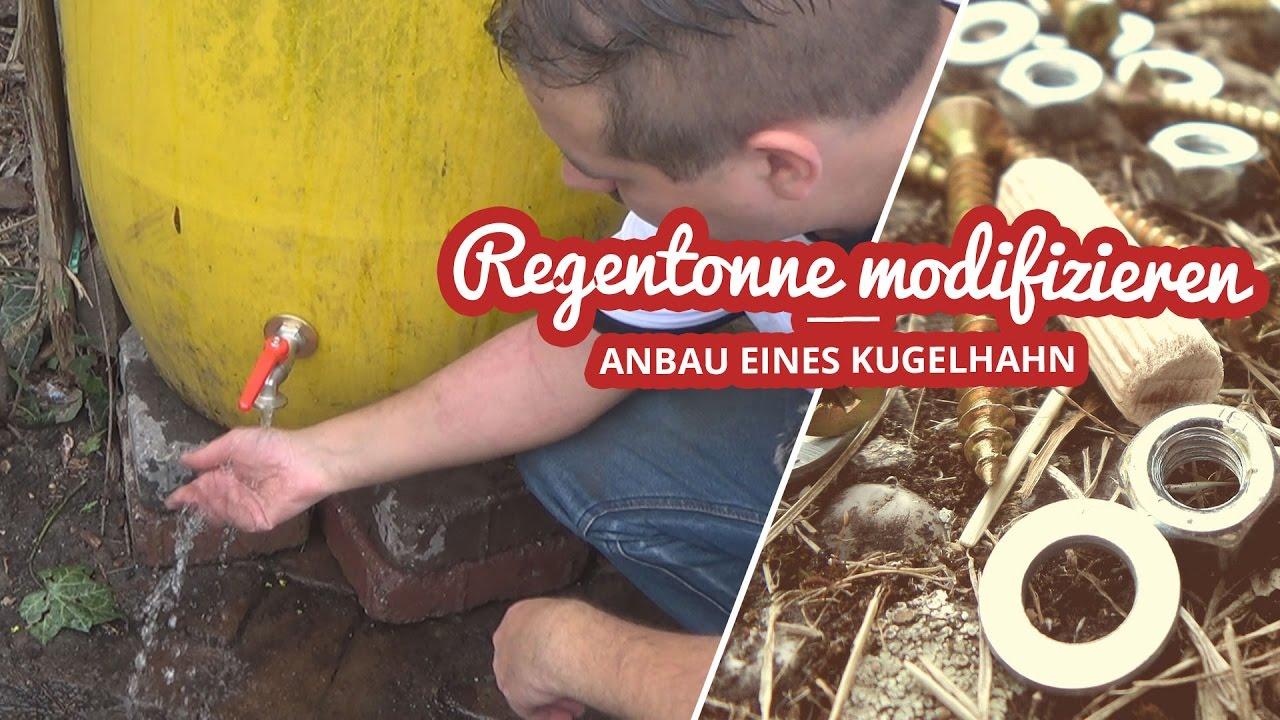 Kugelhahn an Regentonne anbauen und 6000 Abo Spezial Artikelbild