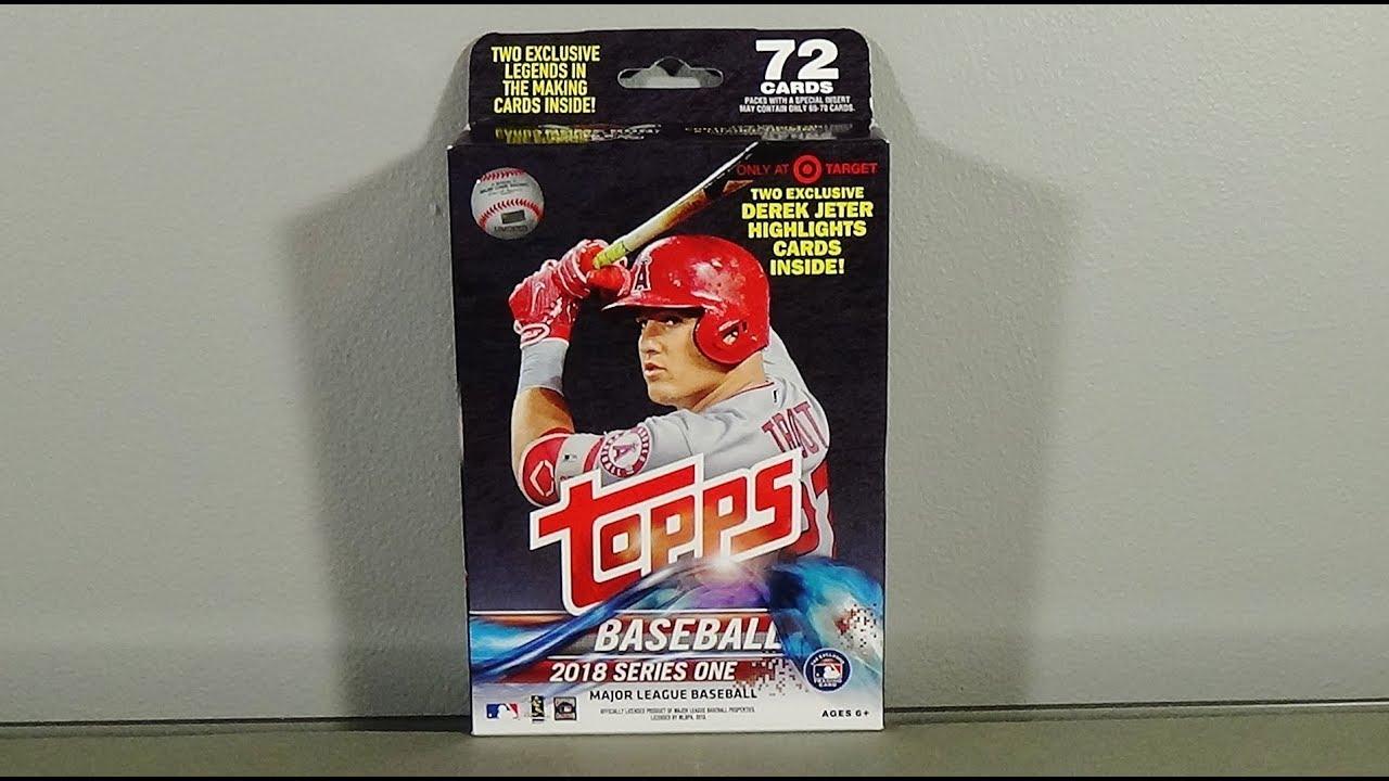 2018 Topps Series 1 Baseball Retail Hanger Box Break