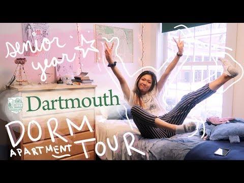 DARTMOUTH DORM TOUR : LEDYARD APTS SENIOR YEAR 😱| JustJoelle1