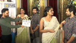 Shivathmika Rajasekhar and Adith Arun Movie Opening | Vidhi Vilasam Movie Launch