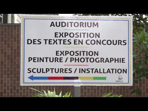 8e jeux francophonie : Une délégation du Niger à  la bibliothèque nationale