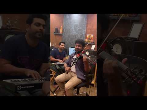 Thankathinkal Cover-Abhijith P S Nair Feat George Varghese-Violin-Cover