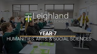 Year 7 - Humanities, Arts, and Social Sciences