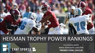 Heisman Trophy Power Rankings: Tua Tagovailoa Set To Win, But Who Gets An Invite?