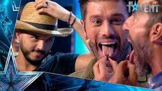 Santi y Dani comen INSECTOS en esta SURREALISTA actuación | Audiciones 9 | Got Talent España 2021