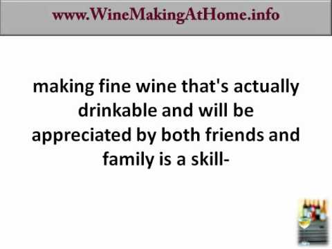 How to make wine at home homemade winemaking guide youtube - Make good house wine tips vinter ...