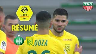 AS Saint-Etienne - FC Nantes ( 0-2 ) - Résumé - (ASSE - FCN) / 2019-20
