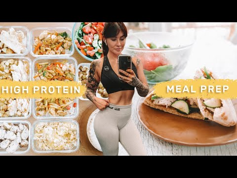 MEAL PREP WITH ME Fast/Healthy Recipes 3 days in 1 hour