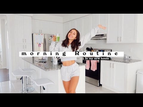 MORNING ROUTINE | HEALTHY + PRODUCTIVE  | Chelsea Trevor thumbnail