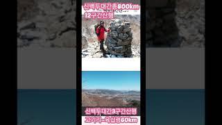 [무박산행.신백두대간800km.12구간산행기]2013년…