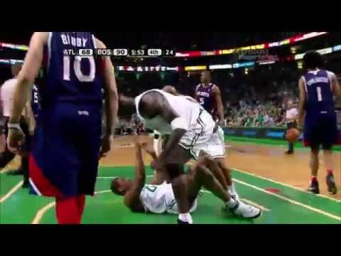 Throwback: Leon Powe dunks home the ball, Kevin Garnett gets really hyped (2008 playoffs)