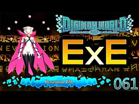 Digimon World Next Order [061] ExE Digitation ROSEMON BM [De