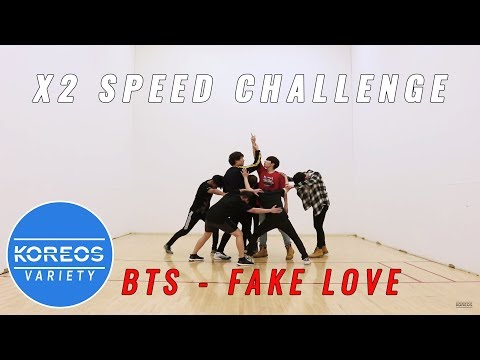 [Koreos Variety] S2 EP24 - 2X Speed BTS Fake Love (Male Ver.)