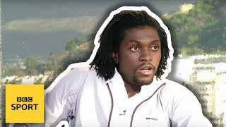 Adebayor's phone rings during Match of the Day - TV fails - BBC Sport