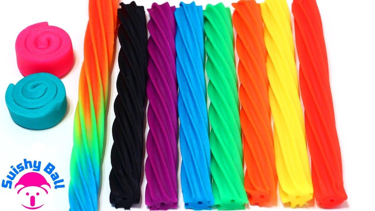 Play-Doh Rainbow Licorice