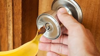 How To Open a Locked Door With a Banana thumbnail