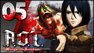 MIKASA ACKERMANN ACTION! - #05 - Attack on Titan: Wings of Freedom - LETS PLAY thumbnail