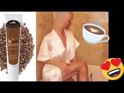 COCOROO TOTAL REJAVANATION FIRST COFFEE SCRUB IN A TUBE! 100% NATURAL & ORGANIC SKIN CARE! MUST HAVE