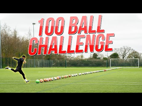 IMPOSSIBLE 100 BALL CHALLENGE! Thumbnail