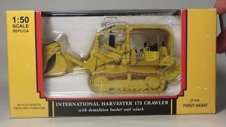 1:50 First Gear International 175 Track Loader Demolition Bucket Review