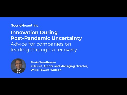 Ravin Jesuthasan—How to Become a More Agile and Resilient ...