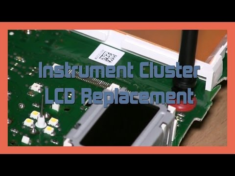 Instrument Cluster LCD Replacement Audi A4 S4 B5 1999-2002