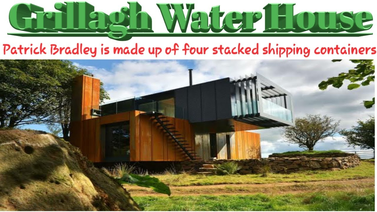 Download 4x45 ft Shipping Container Home With Metal Siding,Ireland - siding our shipping container home!