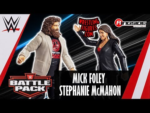 WWE FIGURE INSIDER: Mick Foley & Stephanie McMahon - WWE Battle Packs 49 thumbnail
