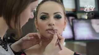 Видеозапись урока курса «Визажист салона красоты» Гелевые текстуры