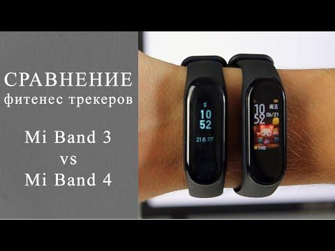 Обзор Mi Band 4 и его сравнение с Mi Band 3. Какой фитнес трекер Xiaomi лучше?