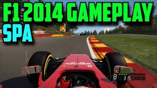 F1 2014 Gameplay | SPA, Ferrari | Legend AI | 50%