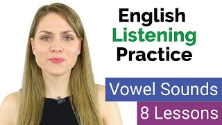 Practice Listening Test of English Vowel Sounds | Learn English Pronunciation | 40 Minimal Pairs
