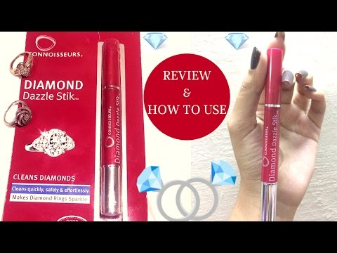 Connoisseurs Diamond Dazzle Stik Review I Jewellery Cleaner I  Diamond Cleaner