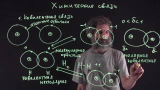 Цитология. Лекция 18. Химические связи