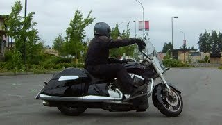 How to do the ICBC Skills Test on a 750LB motorcycle