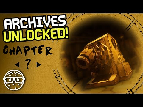 How to Get Bendy and the Ink Machine Archives (BATIM Chapter 5 Secret)