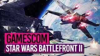 STAR WARS BATTLEFRONT II (Super Run + Secret) 🎮 GAMESCOM 2017
