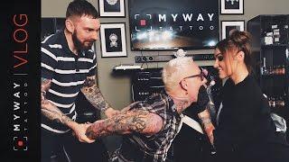 Водонаева бьет бывшему тату на губе в My Way Tattoo