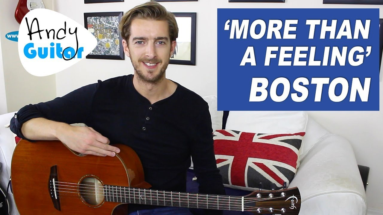 Easy Beginner Songs More Than A Feeling Boston Guitar Lesson