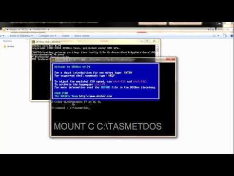 Cómo usar Dosbox para juegos antiguos | Tutorial y descarga | Ejemplo: SIMANT