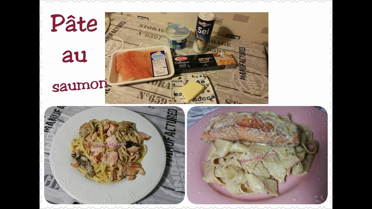 Recette De Pâtes Au Saumon Et Crème Fraîche Super Facile Ramadan 2016