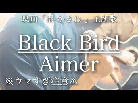 【ウマすぎ注意⚠︎ 】Black Bird / Aimer 映画「累-かさね-」主題歌 鳥と馬が歌うシリーズ