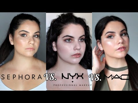 Getting My Makeup Done at 3 Different Stores! Sephora VS MAC VS NYX