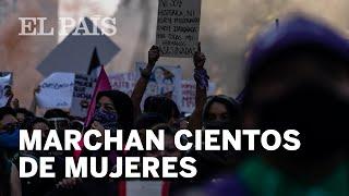 MÉXICO #25N | Catarsis feminista frente a Palacio Nacional