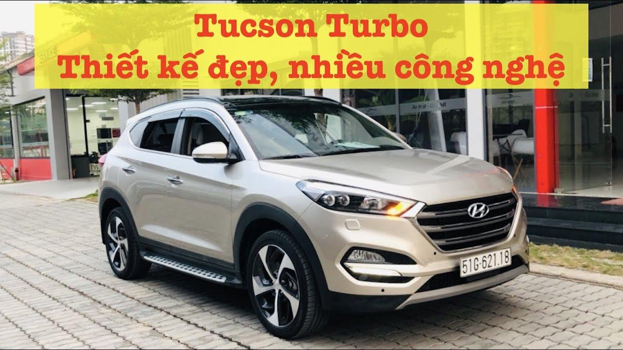 Thiết kế đẹp, nhiều công nghệ: Hyundai Tucson 1.6Turbo | XE CŨ SÀI GÒN