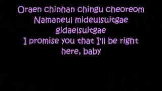 you and i lyrics park bom