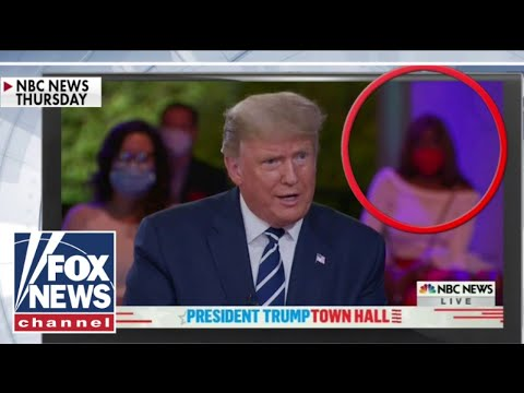 'Nodding woman' who went viral at Trump's town hall joins 'Hannity' exclusively