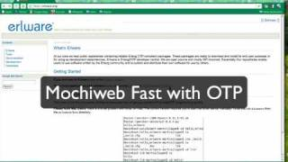 Create an Erlang Mochiweb Web Application in Minutes